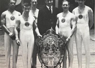 Huddersfield Gymnastics Club Adam Shield Champions 1967