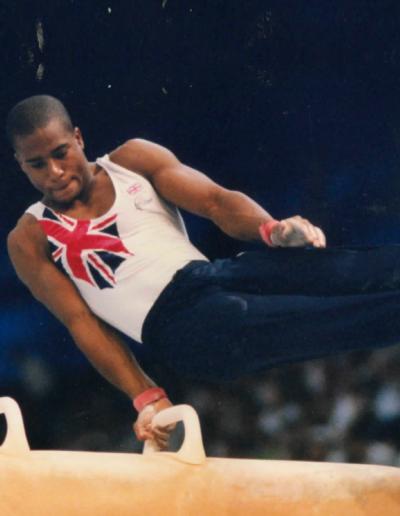British Gymnastics Mens Champions - Kanukai Jackson British Champion MA 2000