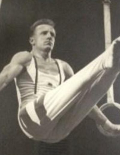 John (Jack) Pancott - British Men's Gymnastics Champion on Rings