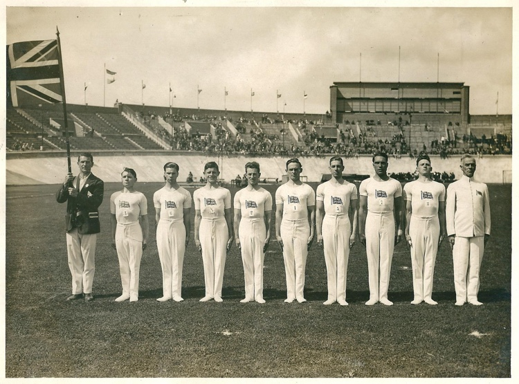 1928 GB Olympic Gymnastics Team