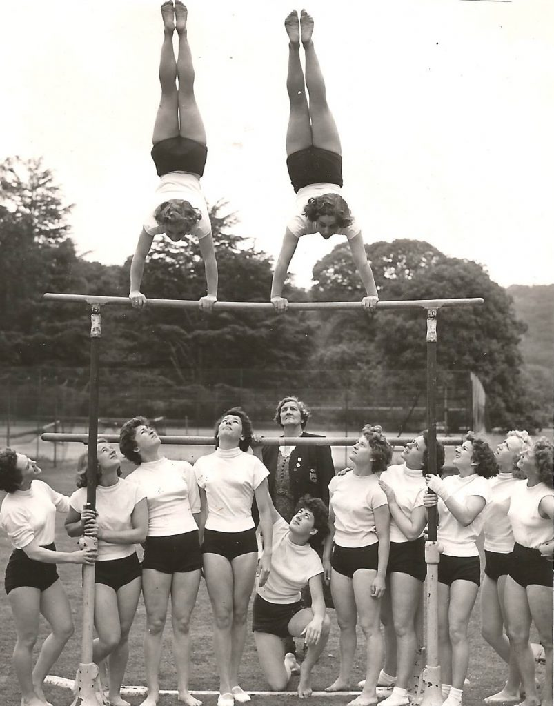 1952 Olympic women hopefuls at Bisham