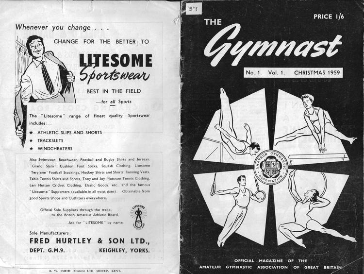 Think, that British amateur gymnastics association theme