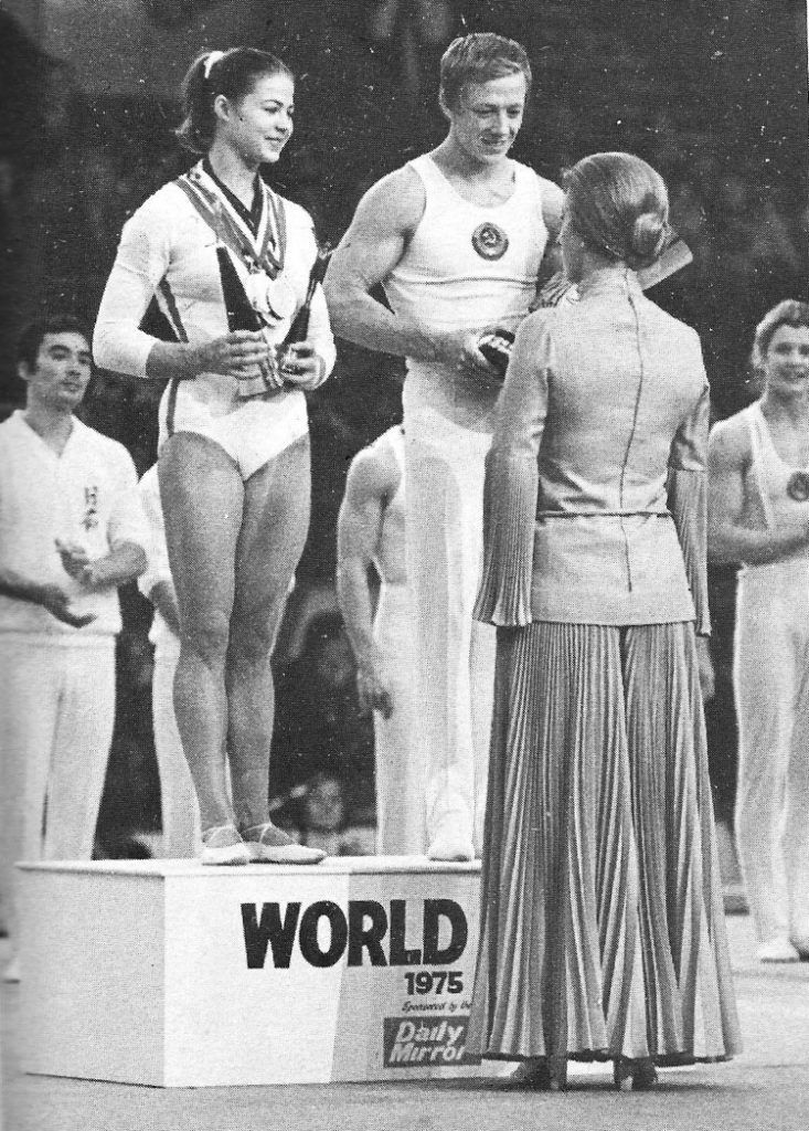 1975 Tourischeva and Andrianov win first World Cup held in London
