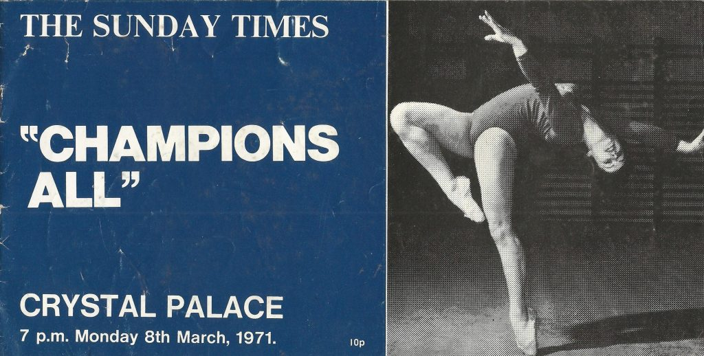 1st Champions All programme