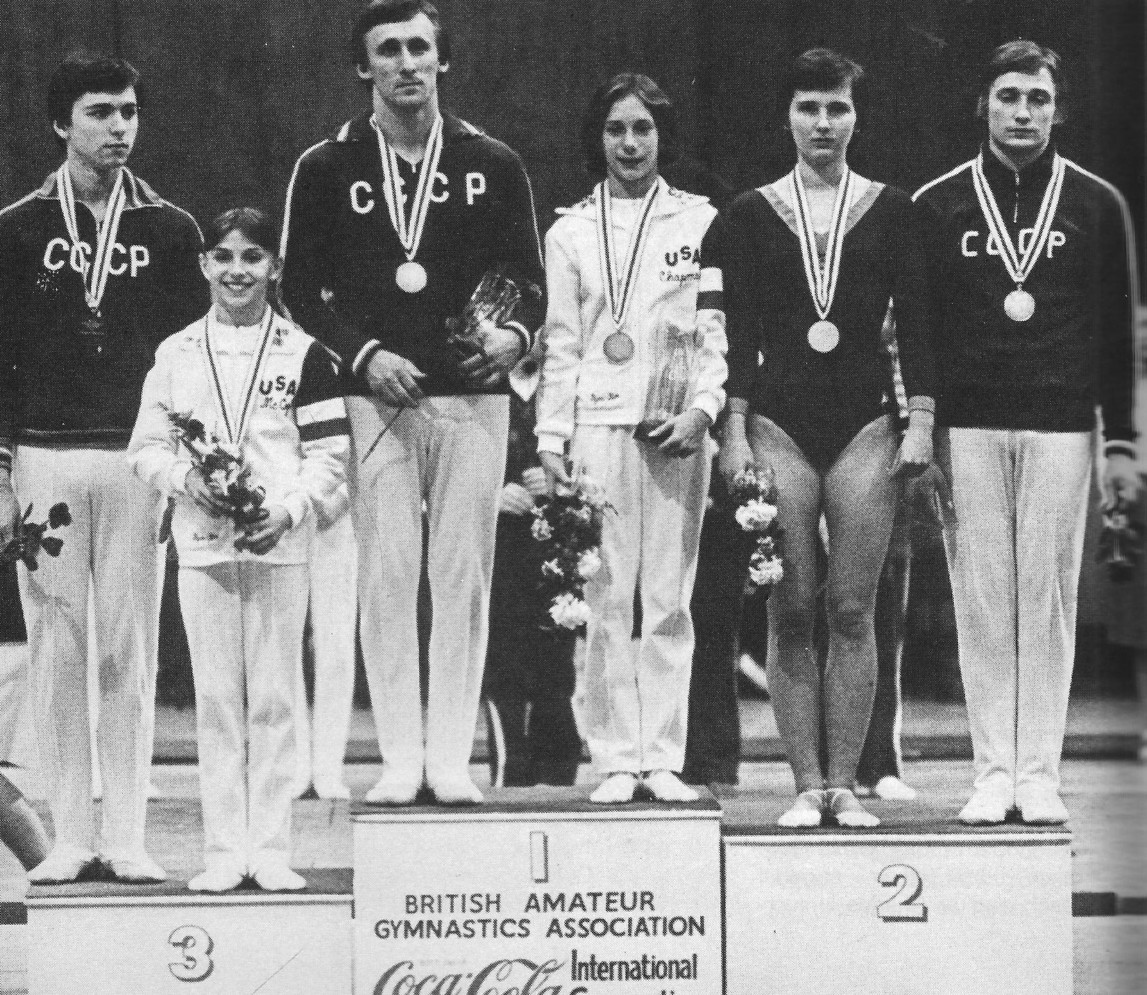 British amateur gymnastics association all became