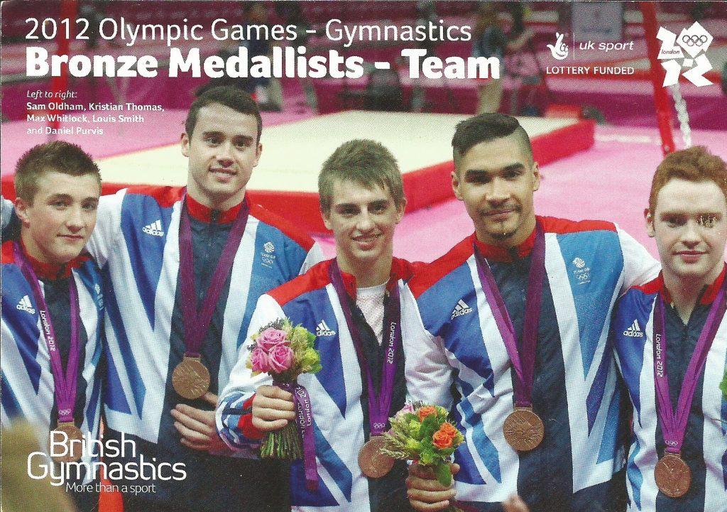 2012 GB men's team Bronze