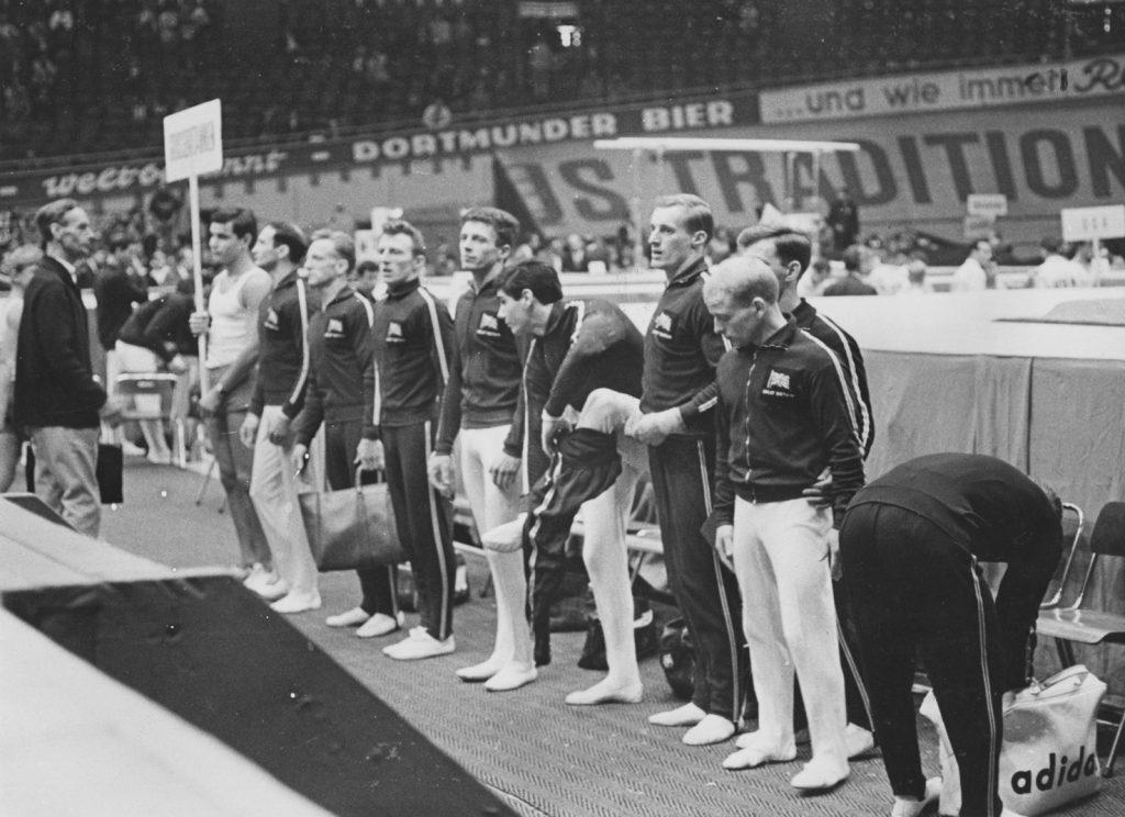 Brit men team Dortmund 1966 460