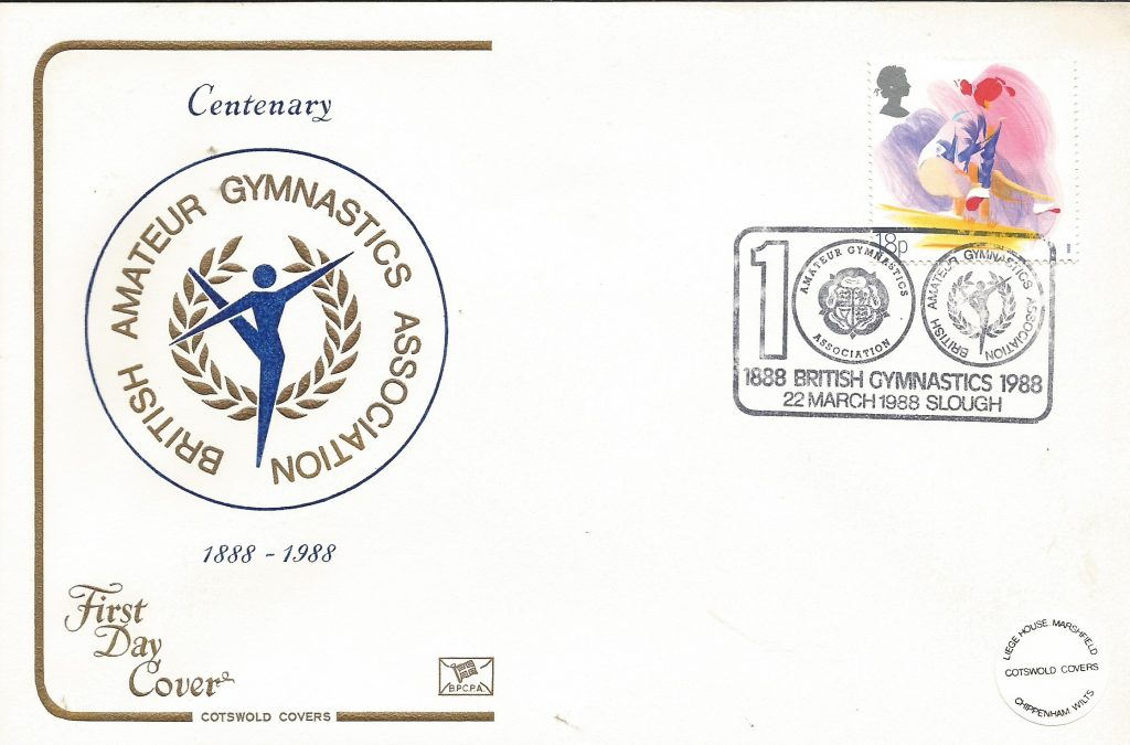 BBAGA Centenary stamp 1988