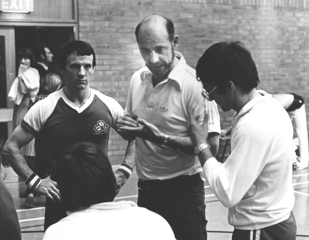 Photo shows John Atkinson with Jeff Davis and Mitch Fenner