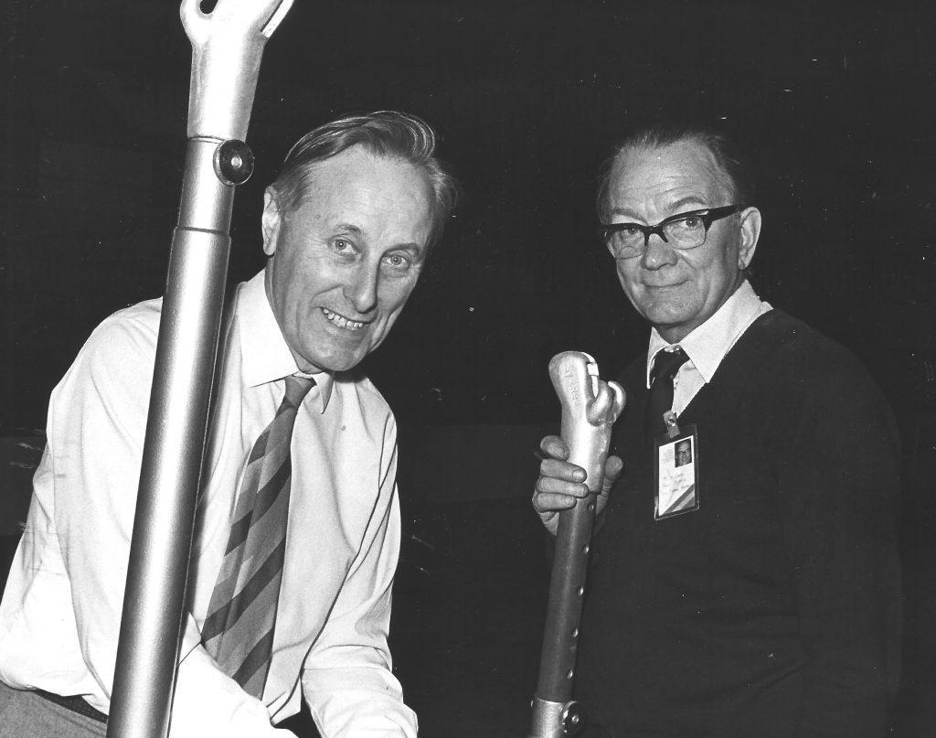 Jim Prestidge & Len Gross 1973 Europeans