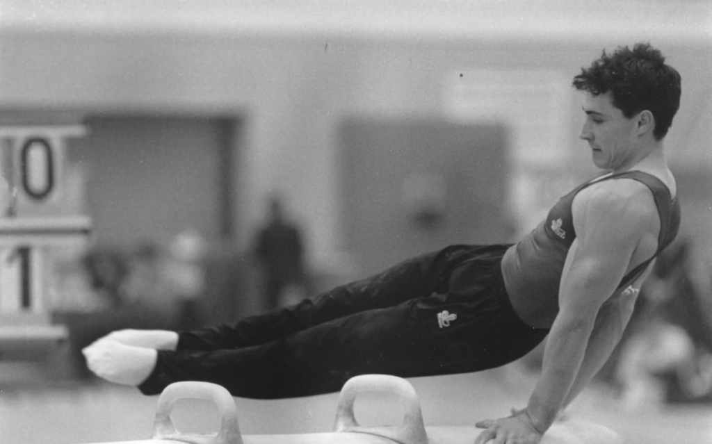 Neil Thomas 2x British Gymnastics Champion