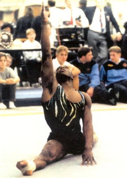 Marvin Campbell - British Gymnastics Champion 1993 and 1995