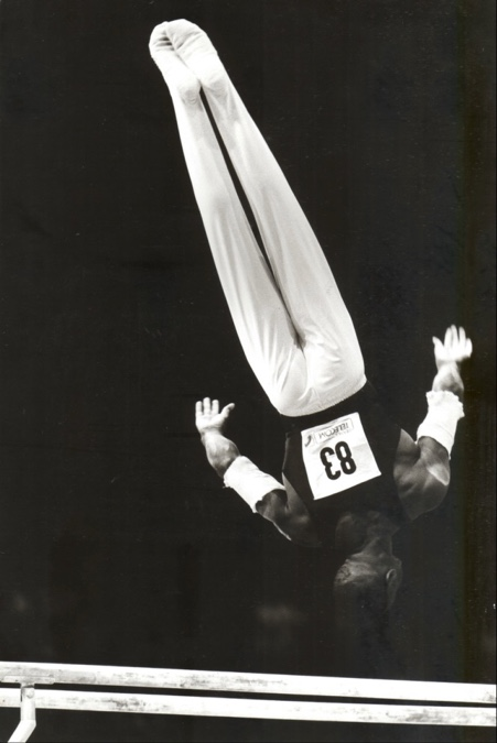 Marvin Campbell - British Gymnastics Champion on Parallel Bars