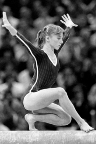 Cheryl Weatherstone on Beam