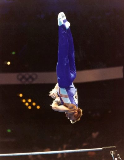 British Champion in 1998, 1999 and here competing in the 2000 Olympics