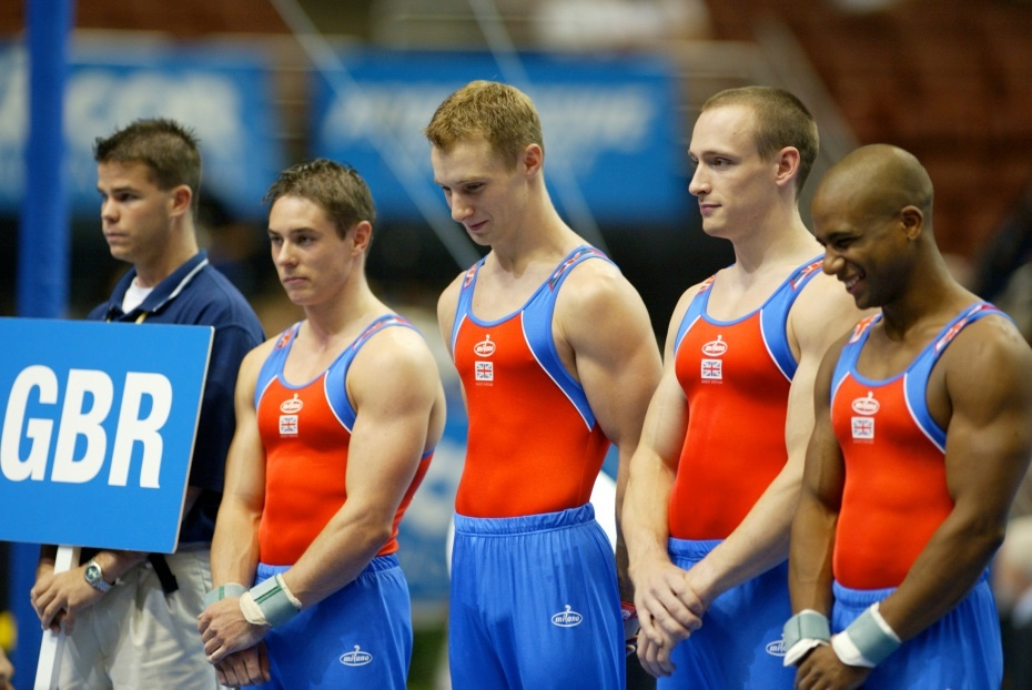 David with Ryan Bradley Ross Brewer and Kanukai Jackson at the Worlds in 2003