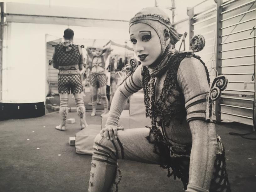 Zita Lusack in Cirque du Soleil pt 1