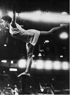 GB gymnast on beam