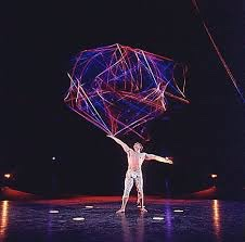 Paul Bowler with Cirque du Soleil