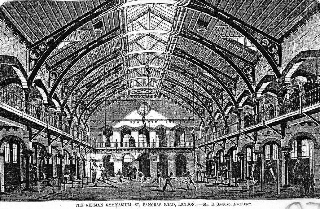 The German Gymnasium 1865
