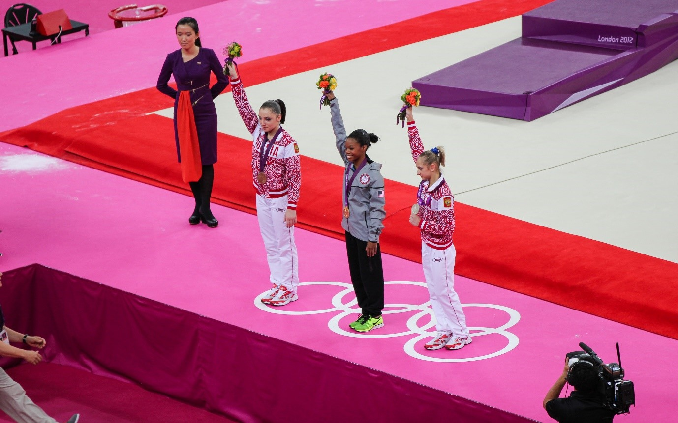 2012 WA AA winners with Gabby Douglas taking the Gold medal