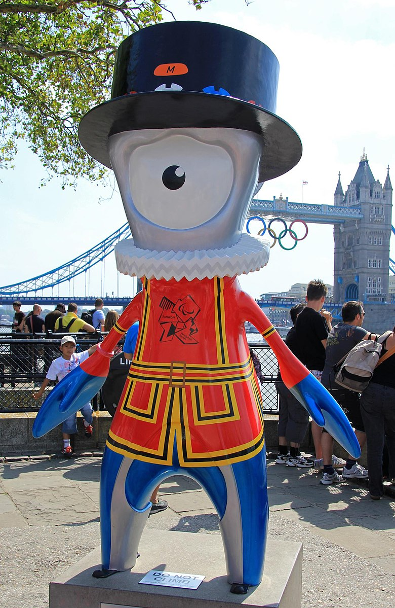 Mandeville as a Beefeater