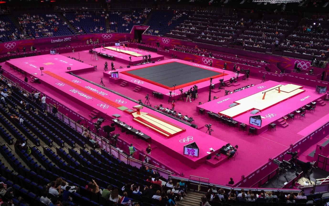 North Greenwich Arena 2012 Olympics Gymnastics Venue