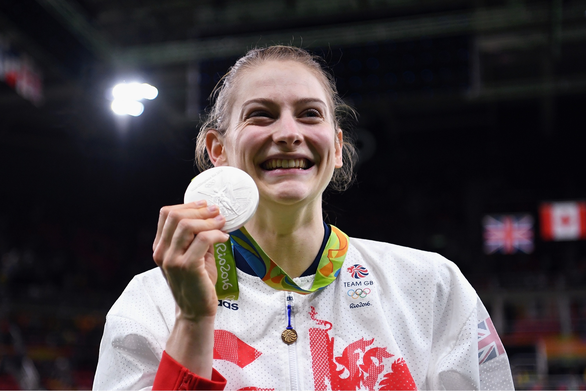 Bryony Page making history with first ever medal in Trampoline for Team GB