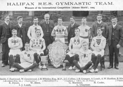 Halifax GC, winners of the Adam Shield Trophy in 1905