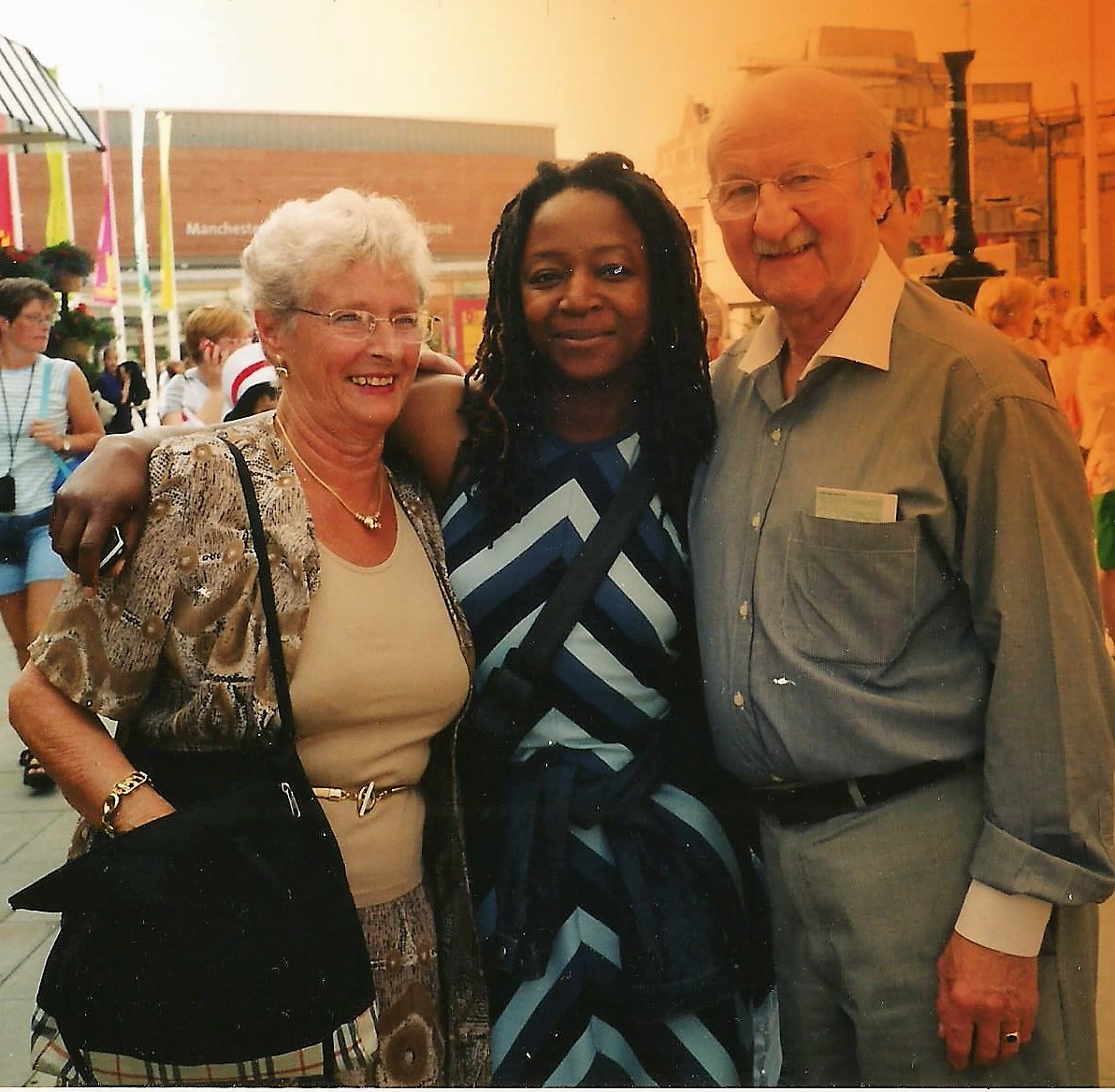 Kathy with Ken & Ruth Fidler