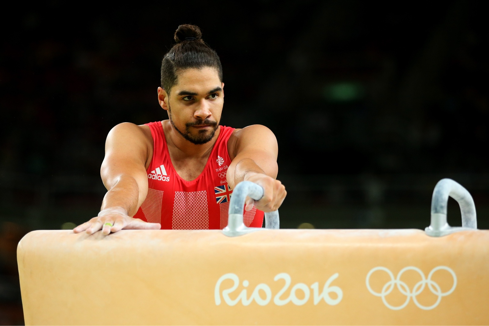 Louis Smith going for Pommel glory at the Rio Olympics