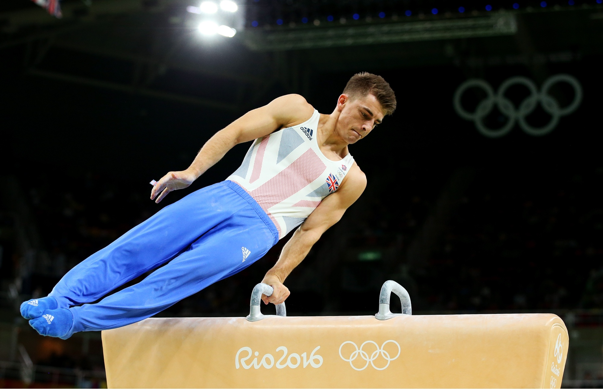 Max Whitlock going for glory in Rio with third medal