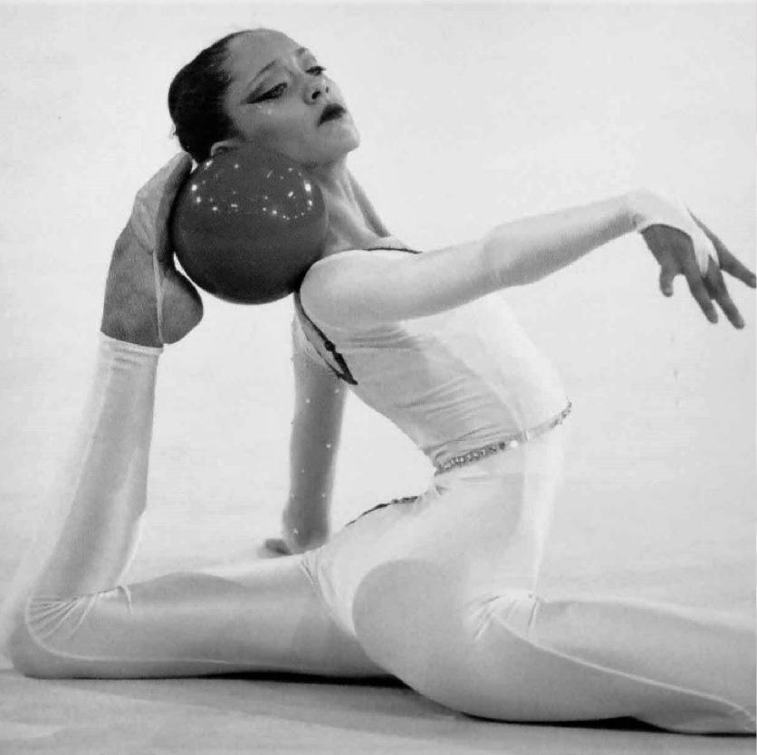 Rhythmic Gymnast Hannah McKibbin - Eileen Langsley International Gymnast